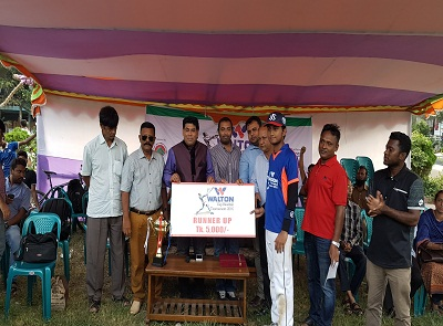 DCC Team Runners-UP in  Baseball Tournament 2016